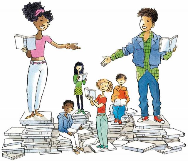 Visuel Les petits champions de la lecture 2019
