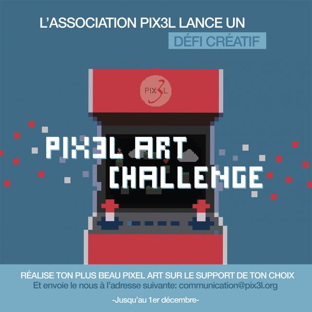 Visuel Challenge Pixel Art
