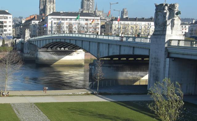 Pont Boieldieu - ©G. Flamein