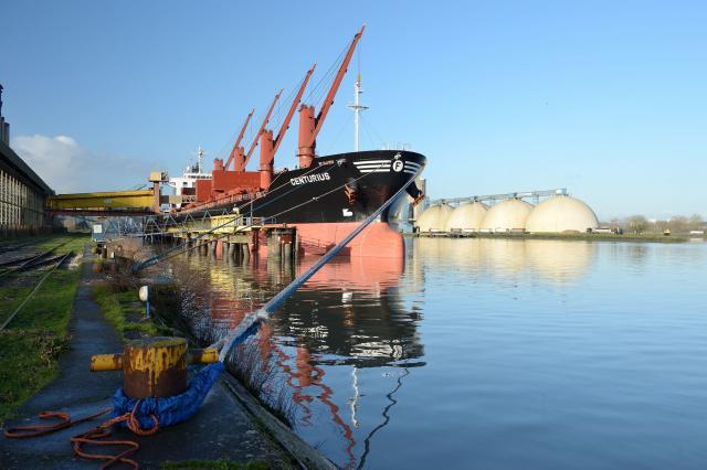 Photo du Port de Rouen (123RF.com)