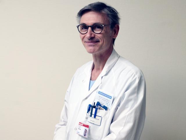 Le Professeur Frédéric Anselme au CHU de Rouen