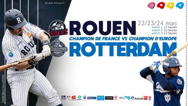 Rouen Rotterdam le visuel du match