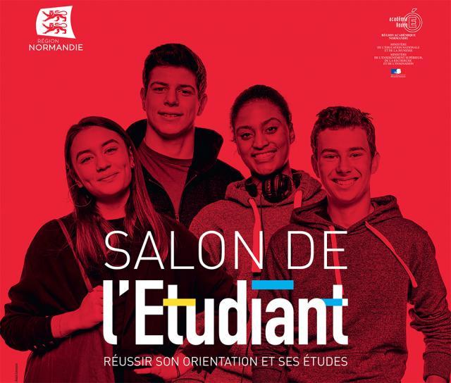 Affiche du Salon de l'étudiant de Rouen 2019