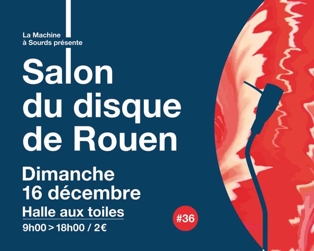 Visuel du salon du disque de Rouen 2018