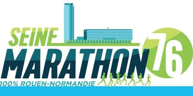 Logo Seine Marathon 76