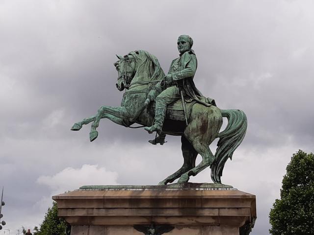 Photo de la statue de Napoléon