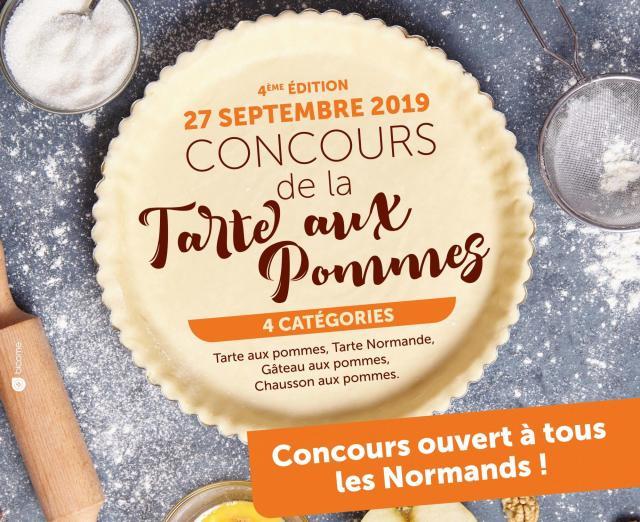 Visuel concours tarte aux pommes 2019