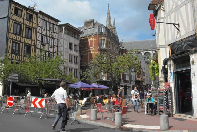 Piétonnisation rue des Boucheries-Saint-Ouen