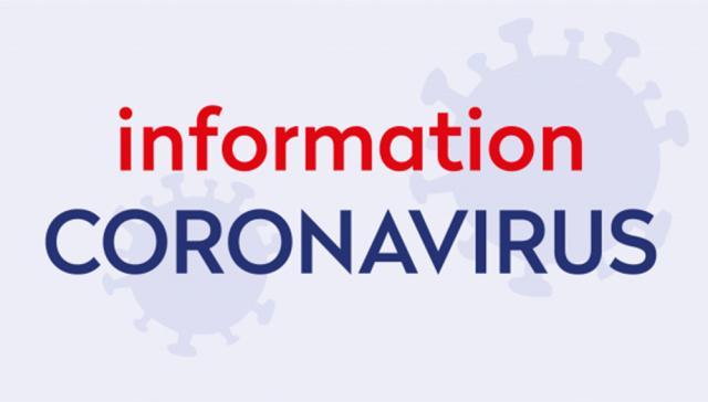 Visuel information Coronavirus