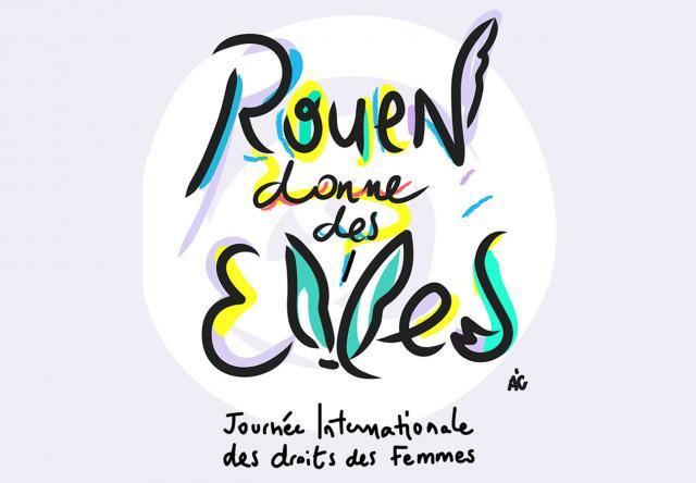 affiche Rouen donne des Elles 2018