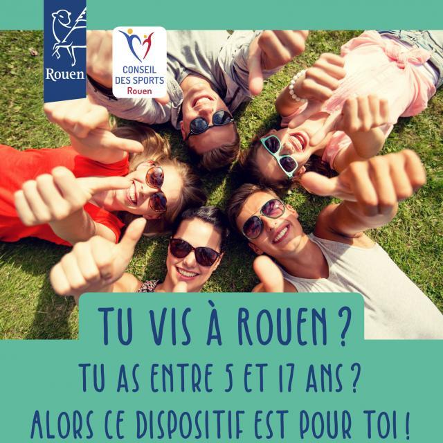 Visuel Tes Vacances à Rouen