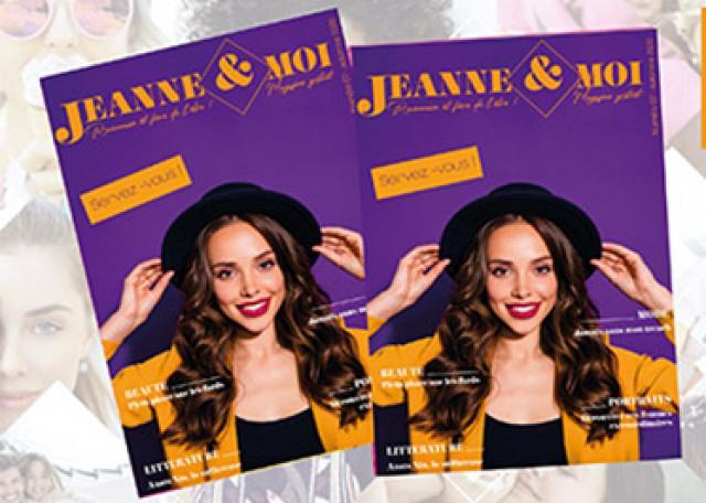 Couverture du numéro 7 du magazine Jeanne et moi